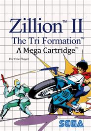 Box cover for Zillion 2: Tri Formation on the Sega Master System.