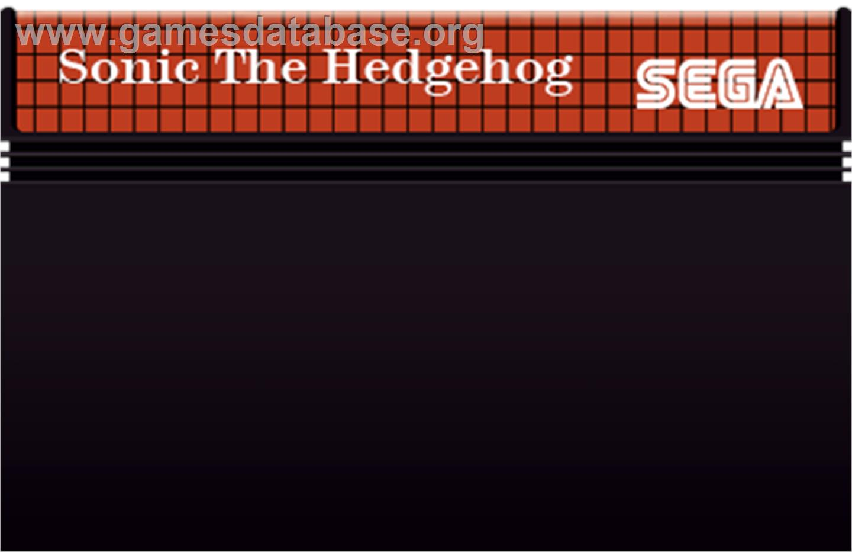 Sonic The Hedgehog 2 Sega Master System Artwork Cartridge