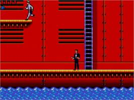 In game image of 007: The Duel on the Sega Master System.