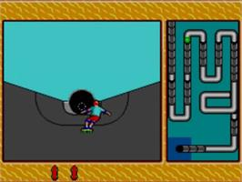 In game image of California Games 2 on the Sega Master System.