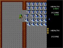 In game image of Gauntlet on the Sega Master System.