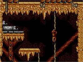 In game image of Indiana Jones and the Last Crusade: The Action Game on the Sega Master System.