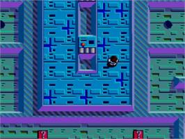 In game image of Maze Hunter 3-D on the Sega Master System.