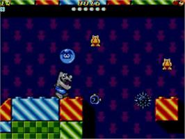 In game image of Ottifants, The on the Sega Master System.