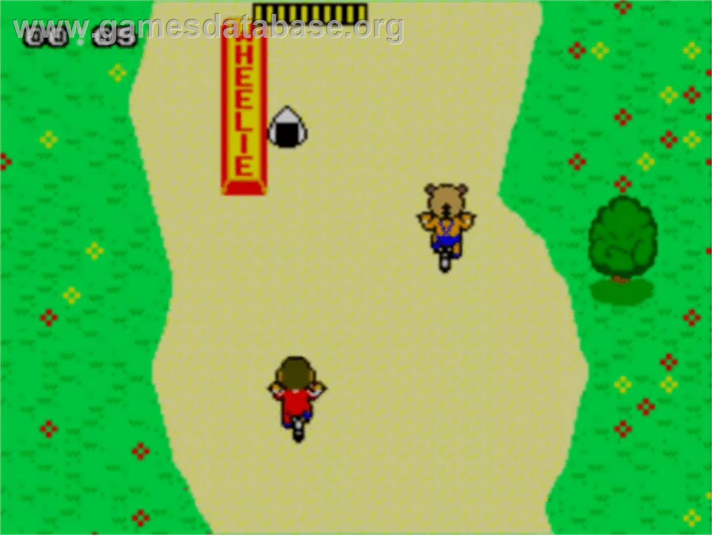 BMX Trial: Alex Kidd screenshot