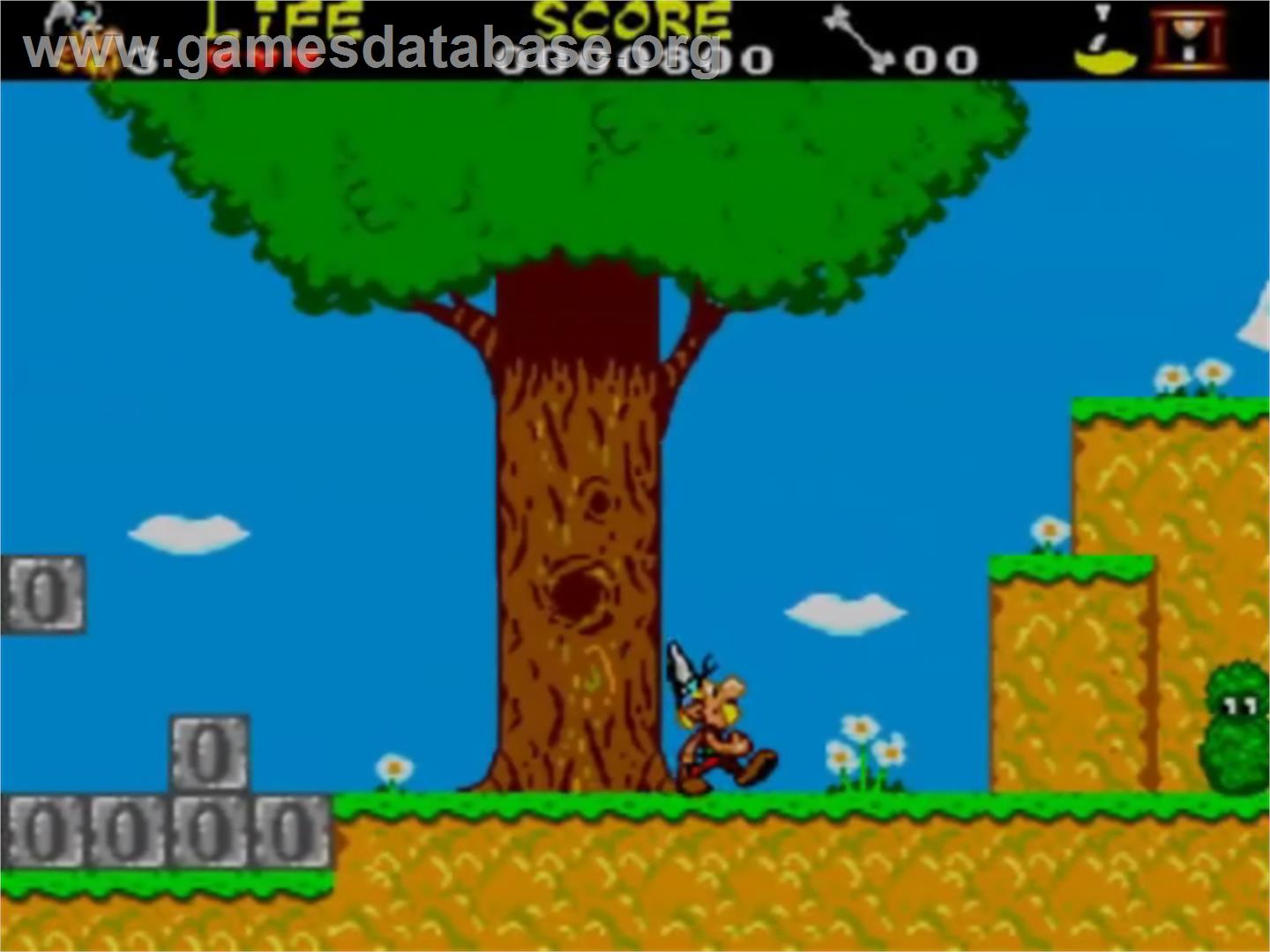 image of Astérix and the Secret Mission on the Sega Master System