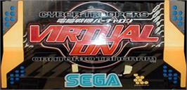 Arcade Cabinet Marquee for Virtual On 2: Oratorio Tangram.