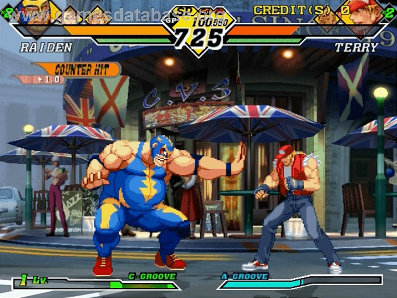 Capcom vs SNK 2 Millionaire Fighting 2001 - Sega Naomi