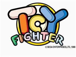 Title screen of Toy Fighter on the Sega Naomi.