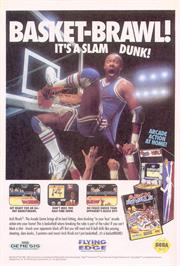 Advert for Arch Rivals on the Sega Nomad.