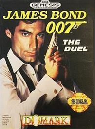 Box cover for 007: The Duel on the Sega Nomad.