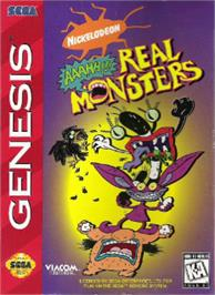 Box cover for AAAHH!!! Real Monsters on the Sega Nomad.