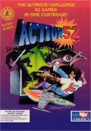 Box cover for Action 52 on the Sega Nomad.
