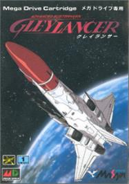Box cover for Advanced Busterhawk Gleylancer on the Sega Nomad.