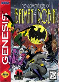 Box cover for Adventures of Batman and Robin, The on the Sega Nomad.