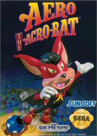 Box cover for Aero the Acro-Bat on the Sega Nomad.