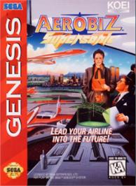 Box cover for Aerobiz Supersonic on the Sega Nomad.