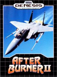 Box cover for After Burner II on the Sega Nomad.