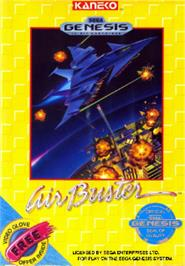 Box cover for Air Buster on the Sega Nomad.