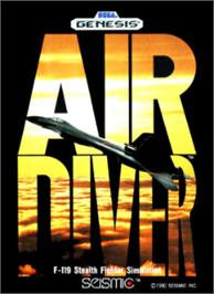 Box cover for Air Diver on the Sega Nomad.