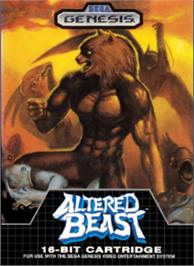 Box cover for Altered Beast on the Sega Nomad.