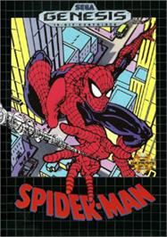 Box cover for Amazing Spider-Man vs. The Kingpin, The on the Sega Nomad.