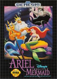 Box cover for Ariel the Little Mermaid on the Sega Nomad.