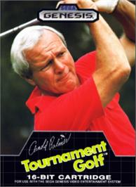 Box cover for Arnold Palmer Tournament Golf on the Sega Nomad.