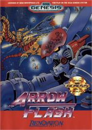 Box cover for Arrow Flash on the Sega Nomad.