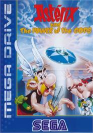 Box cover for Asterix and the Power of the Gods on the Sega Nomad.