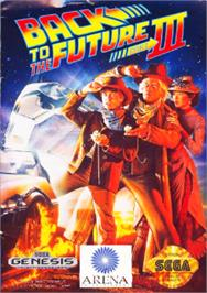 Box cover for Back to the Future III on the Sega Nomad.