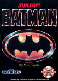 Box cover for Batman: Return of the Joker on the Sega Nomad.