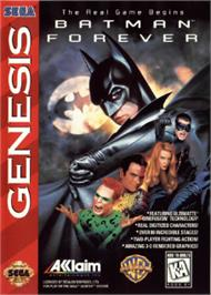 Box cover for Batman Forever on the Sega Nomad.