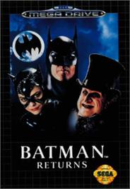 Box cover for Batman Returns on the Sega Nomad.