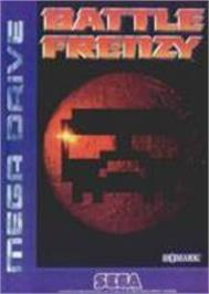 Box cover for Battle Frenzy on the Sega Nomad.