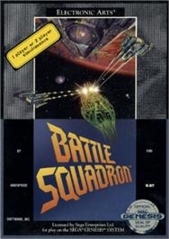 Box cover for Battle Squadron on the Sega Nomad.