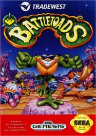 Box cover for Battletoads on the Sega Nomad.