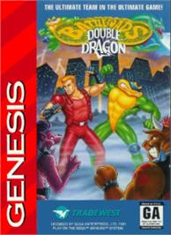 Box cover for Battletoads & Double Dragon: The Ultimate Team on the Sega Nomad.