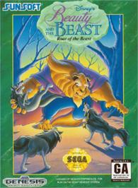 Box cover for Beauty and the Beast: Roar of the Beast on the Sega Nomad.