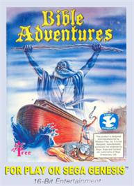 Box cover for Bible Adventures on the Sega Nomad.