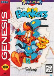 Box cover for Bonkers on the Sega Nomad.