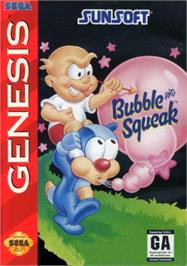 Box cover for Bubble and Squeak on the Sega Nomad.