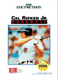 Box cover for Cal Ripken Jr. Baseball on the Sega Nomad.