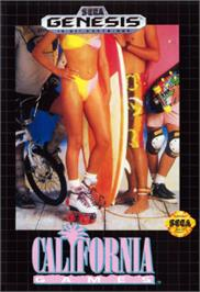 Box cover for California Games on the Sega Nomad.