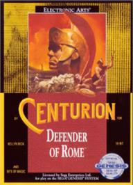 Box cover for Centurion: Defender of Rome on the Sega Nomad.