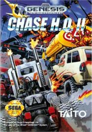 Box cover for Chase H.Q. 2 on the Sega Nomad.