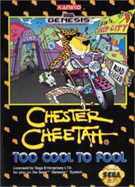 Box cover for Chester Cheetah: Too Cool to Fool on the Sega Nomad.