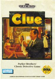 Box cover for Clue on the Sega Nomad.