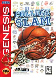 Box cover for College Slam on the Sega Nomad.