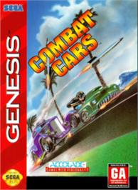 Box cover for Combat Cars on the Sega Nomad.